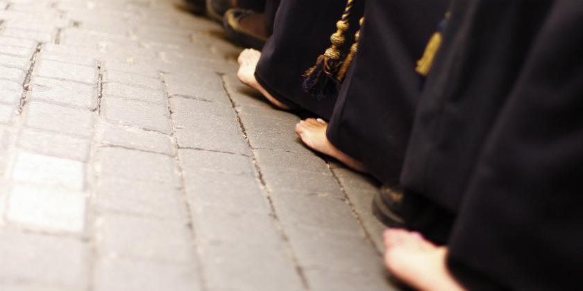 Cuidado de tus pies en Semana Santa